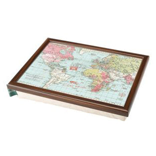 Voyager Map Of The World Lap Tray