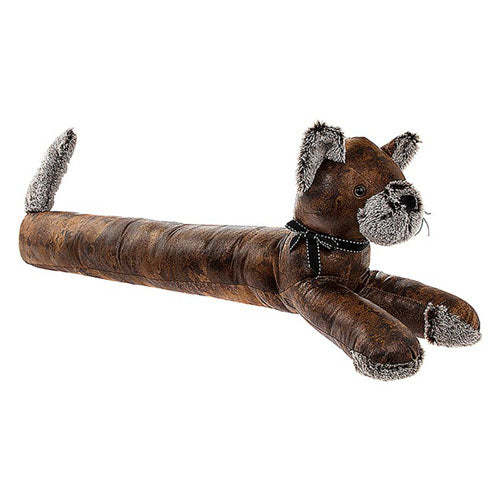 Antique Pal Brown Draught Excluder, Cat