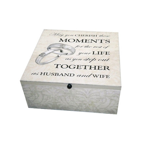 'May You Cherish...' Wedding Memory Box
