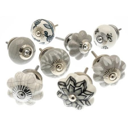 Drawer Knobs, Set Of 8, 40mm (700a)