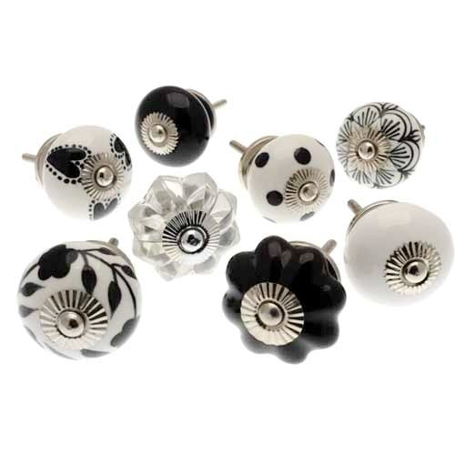 Drawer Knobs, Set Of 8, 40-42mm, 705a