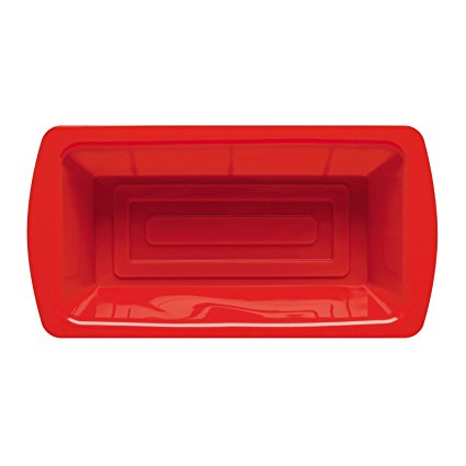 Zeal Non-Stick Silicone Loaf Mould, 2lb, Red
