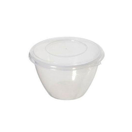 Whitefurze Plastic Pudding Bowl, 600ml
