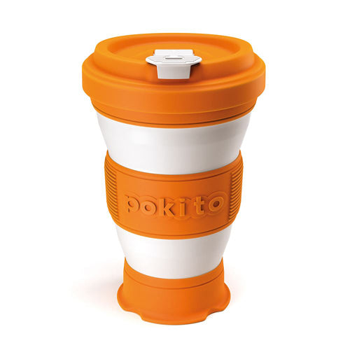 Pokito Pop Up Expandable Cup, Pumpkin