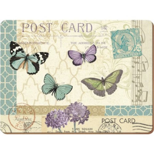 Postcard Placemats, Set Of 6