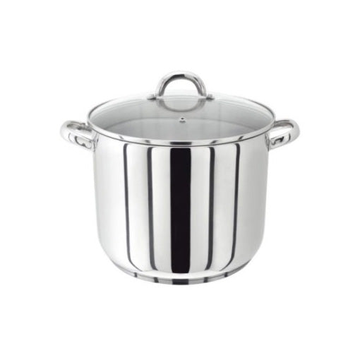 Judge Vista Stockpot With Glass Lid, 20cm/8""
