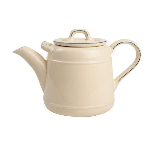 Pride Of Place Ceramic Teapot, Cream