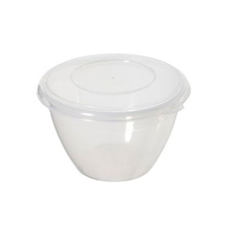 Whitefurze Plastic Pudding Bowl, 2 Litre