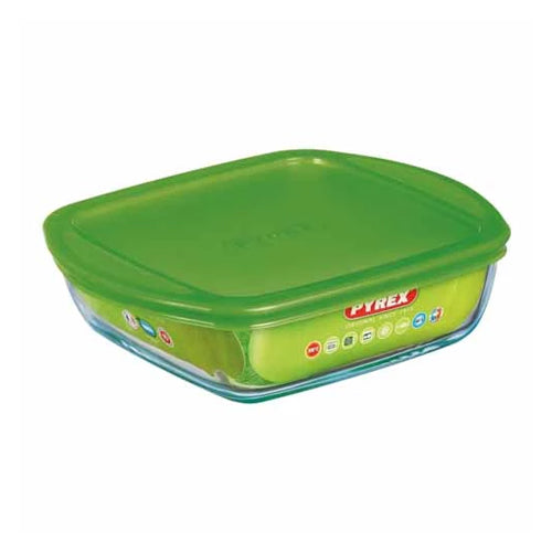 Pyrex Cook & Store Rectangular Dish With Lid, 2.2l