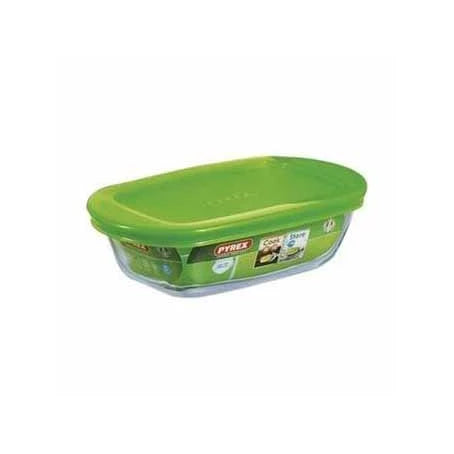 Pyrex Cook & Store Rectangular Dish With Lid, 400ml