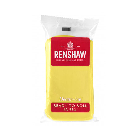 Renshaw Ready To Roll Icing, 250g, Pastel Yellow