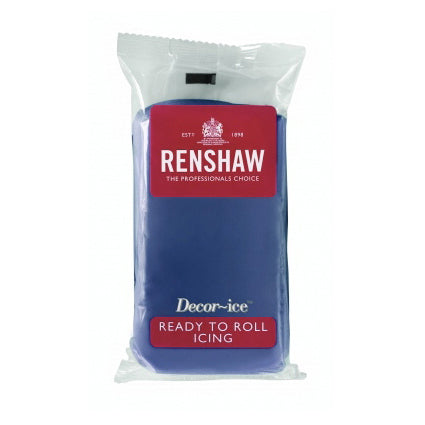 Renshaw Ready To Roll Icing, 250g, Powder Blue