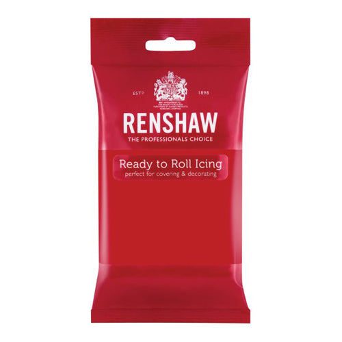 Renshaw Ready To Roll Icing, 500g, Poppy Red