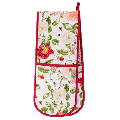 'Traditional Rose' Double Oven Glove