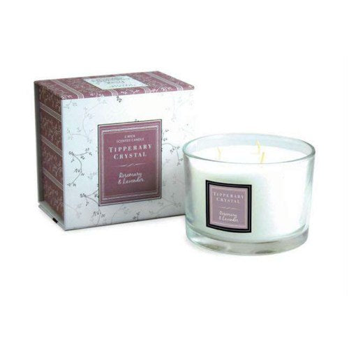 Tipperary 3 Wick Candle, Rosemary & Lavender