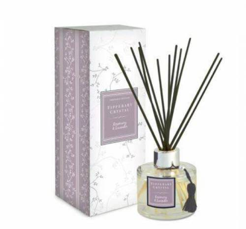 Tipperary Crystal Diffuser Set, Rosemary & Lavender