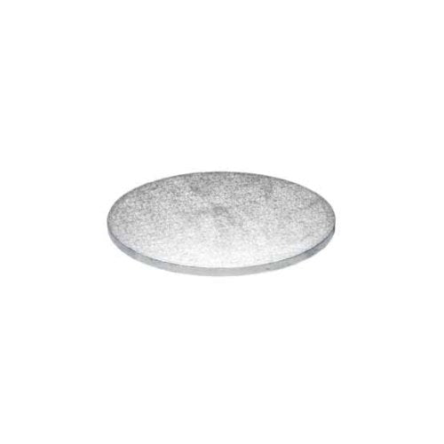"Round Cake Board, Deep, 4"", Silver"