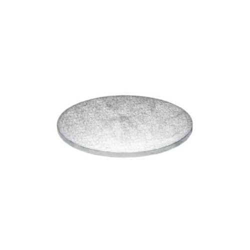 "Round Cake Board, Deep, 5"", Silver"