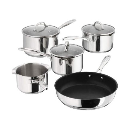 Stellar Draining Saucepan Set, 5 Piece