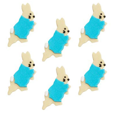 Sugarcraft Peter Rabbit Cake Toppers, 6 Piece