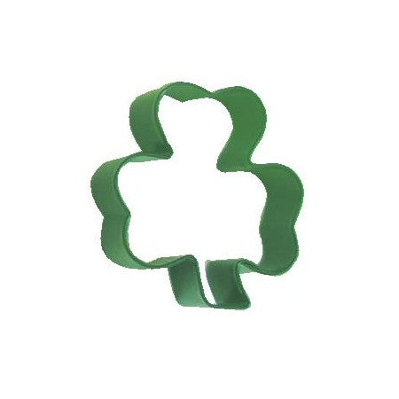 Green Shamrock Cookie Cutter, 7.25cm