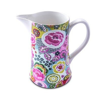 Shannonbridge Pottery Burst Of Colours 1 Pint Jug