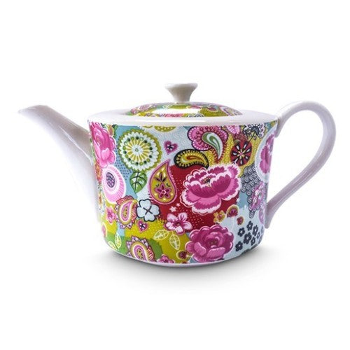 Shannonbridge Pottery Burst Of Colours 4 Cup Teapot