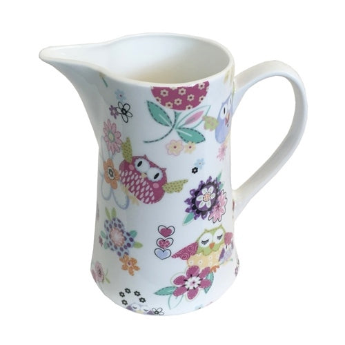 Shannonbridge Pottery Happy Hoots 1 Pint Jug