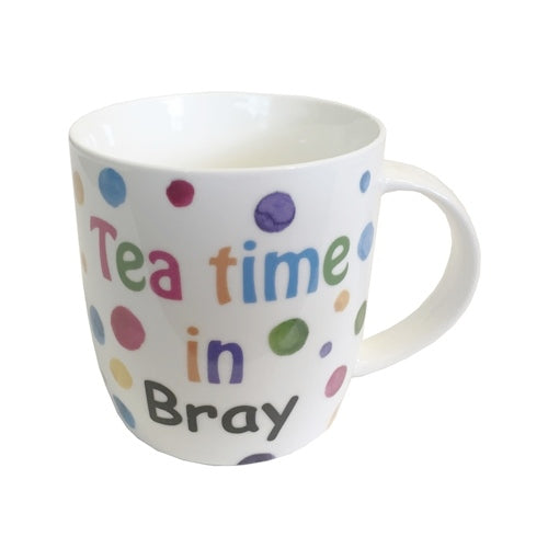 Shannonbridge Pottery 'Teatime In Bray' Boxed Mug