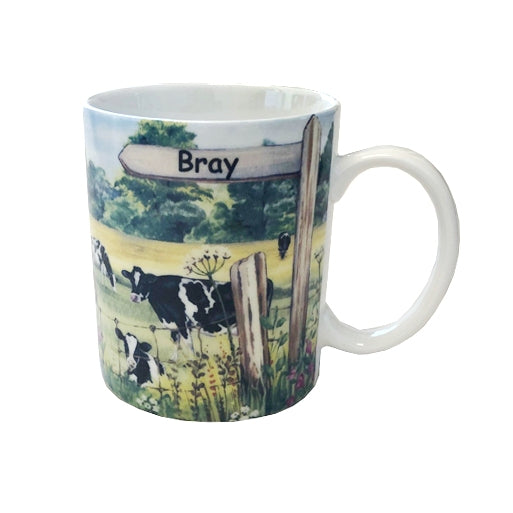 Shannonbridge Pottery 'Bray Signpost' Boxed Mug