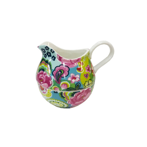 Shannonbridge Pottery Burst Of Colours Stacker Sugar & Cream Set