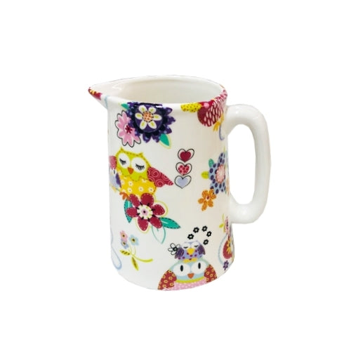 Shannonbridge Pottery Happy Hoots Cream Jug