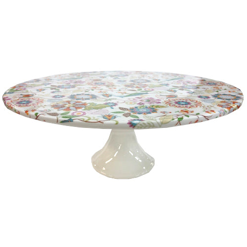 Shannonbridge Pottery Imari Footed Cake Stand