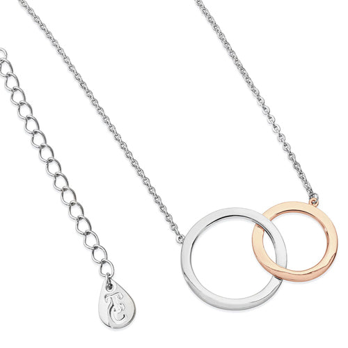TIPPERARY CRYSTAL Interlocking Circles Pendant