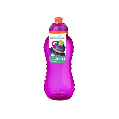 Sistema Twist 'N' Sip Bottle, 330ml, Purple