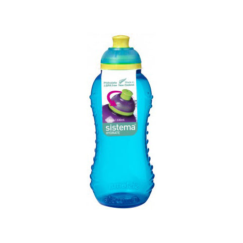 Sistema Twist 'N' Sip Bottle, 330ml, Aqua