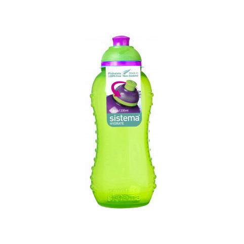 Sistema Twist 'N' Sip Bottle, 330ml, Lime (1)