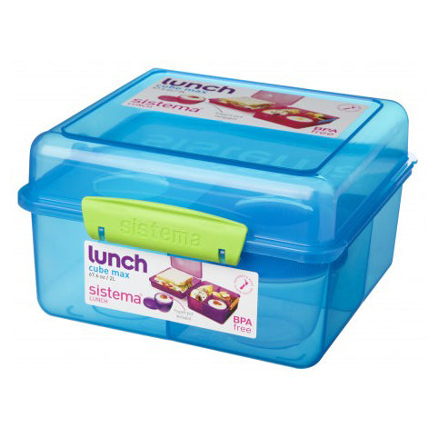 Sistema Lunch Cube Max, 2L, Blue