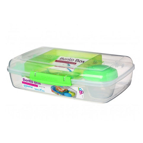 Sistema Bento Box To Go, 1.76l, Lime