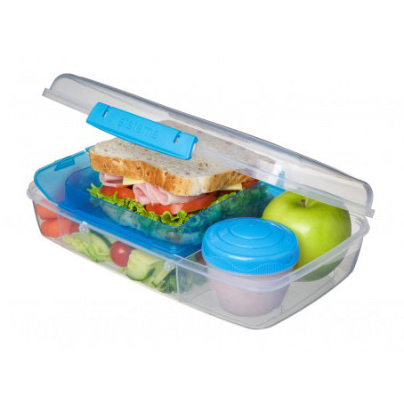 Sistema Bento Box To Go, 1.76l, Aqua