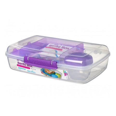 Sistema Bento Box To Go, 1.76l, Purple