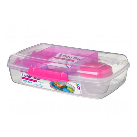 Sistema Bento Box To Go, 1.76l, Pink