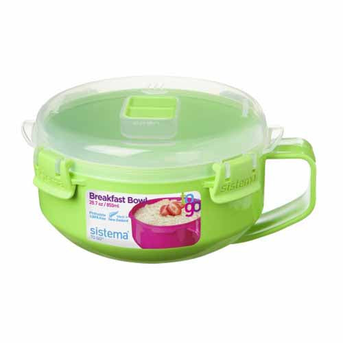 Sistema Breakfast Bowl, 850ml, Green