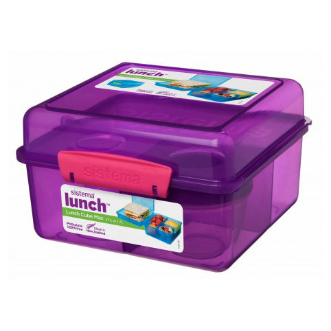 Sistema Lunch Cube Max, 2L, Purple