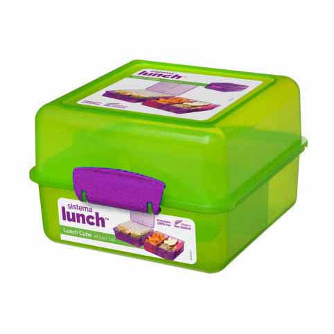 Sistema Lunch Cube To Go, 1.4l, Green