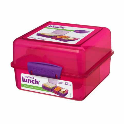 Sistema Lunch Cube To Go, 1.4l, Pink