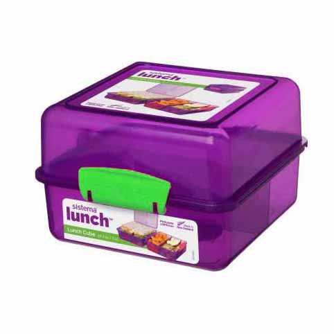 Sistema Lunch Cube To Go, 1.4l, Purple