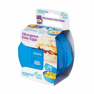 Sistema Microwave Easy Eggs, 271ml, Aqua