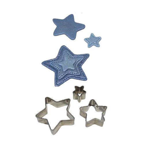 PME Star Shaped Cutters, Set Of 3