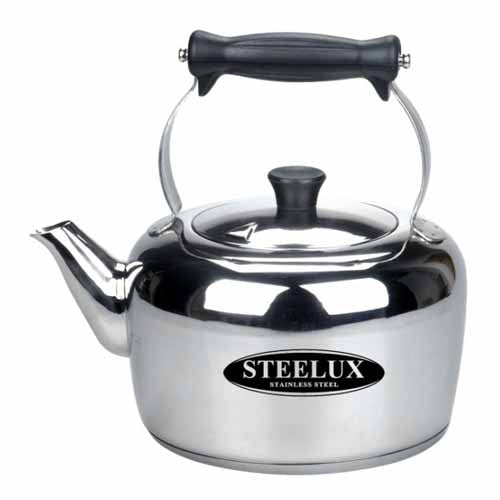 Steelux Stainless Steel Kettle, 4 Litre